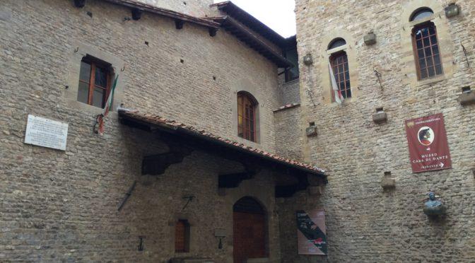 フィレンツェ、2日目、ダンテの家美術館(MUSEO CASA DI DANTE)