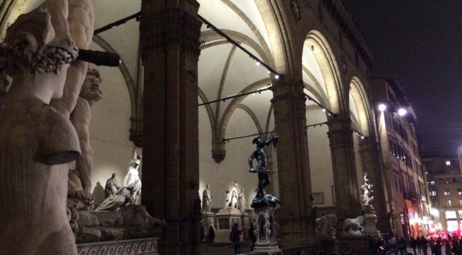 フィレンツェ、2日目、ヴェッキオ宮殿、外