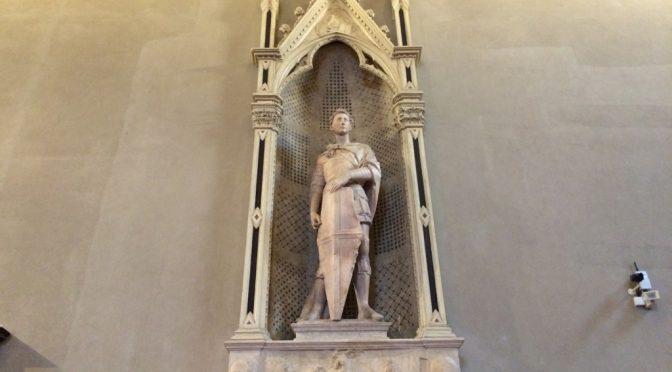 フィレンツェ、3日目、パルジェロ国立美術館、ドナテッロ、《聖ゲオルギウス》