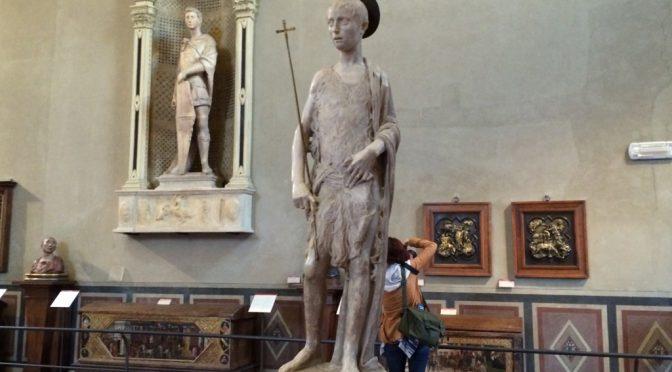 フィレンツェ、3日目、パルジェロ国立美術館、何気に重要なレリーフ2枚