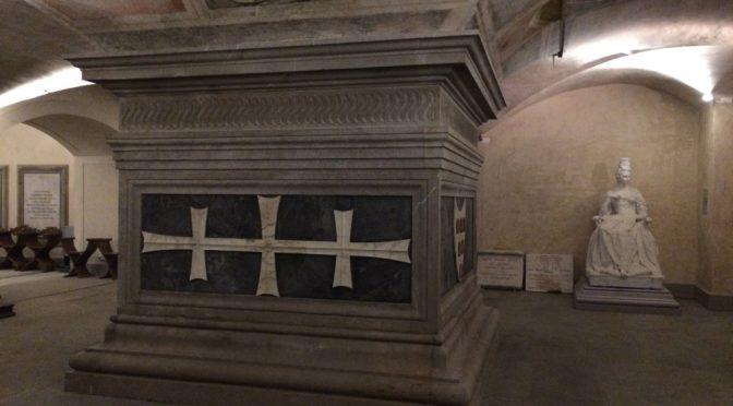 フィレンツェ、3日目、サン・ロレンツォ聖堂、コジモ・デ・メディチの墓碑(地下祭室)