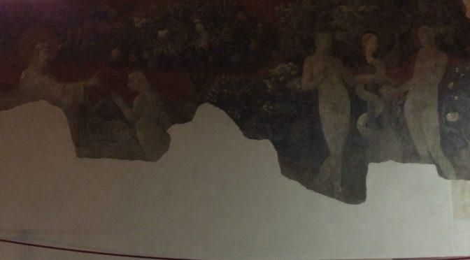 フィレンツェ、3日目、サンタ・マリア・ノヴェッラ教会、緑の回廊(続き)