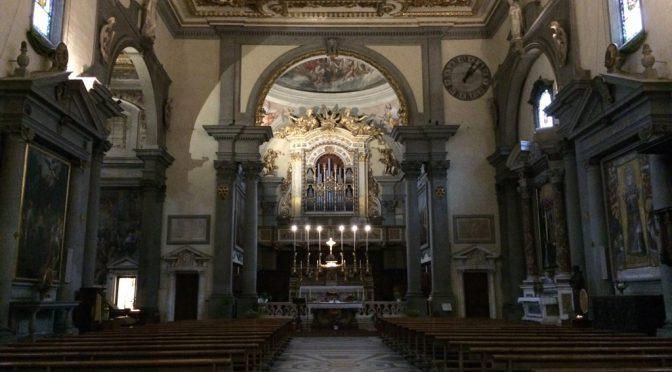 フィレンツェ、4日目、サン・マルコ教会、内部