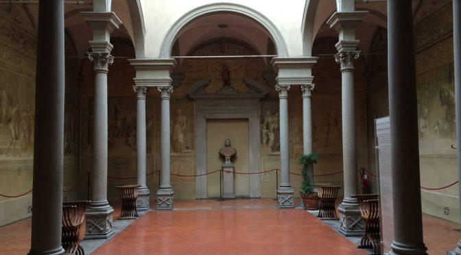 フィレンツェ、4日目、スカルツォ修道会修道院回廊