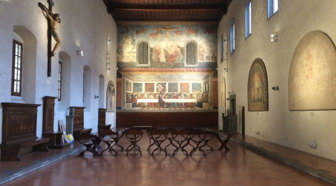 フィレンツェ、4日目、サンタッポローニア修道院