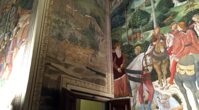 フィレンツェ、4日目、メディチ=リッカルディ館、《東方三博士の礼拝》、老年の博士