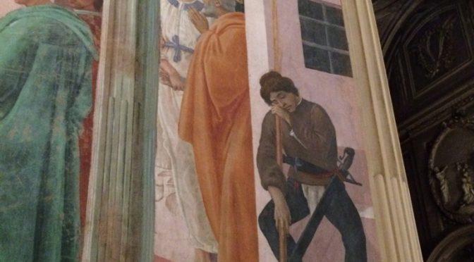 フィレンツェ、4日目、サンタ・マリア・デル・カルミネ教会、ブランカッチ礼拝堂、続き