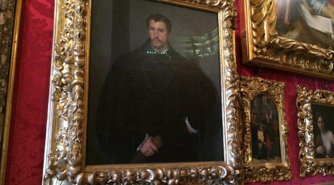 フィレンツェ、4日目、ピッティ宮殿、パラティーナ美術館、ティチアーノ、《若い男性の肖像(若いイギリス人)》