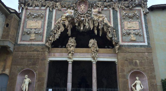 フィレンツェ、4日目、ピッティ宮殿、ボボリ庭園