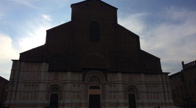 ボローニャ、2日目、サン・ペトロニオ聖堂、ファサード