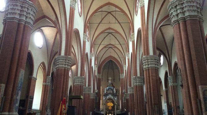 ボローニャ、2日目、サン・ペトロニオ聖堂、身廊
