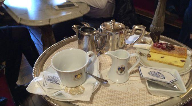 ボローニャ、4日目、ヴェネチア、カフェ・フローリアン