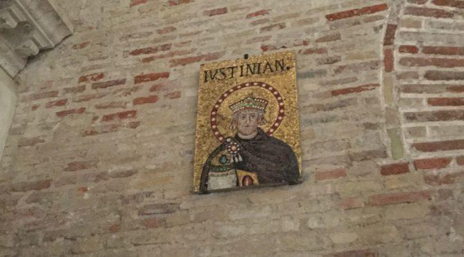 ボローニャ、3日目、ラヴェンナ、サンタポリナーレ・ヌオヴォ聖堂、ユスティニアヌス帝