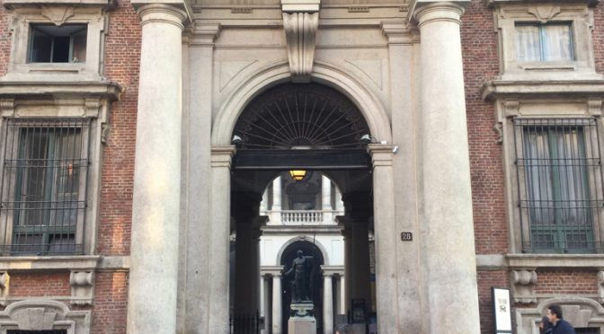 ボローニャ、6日目、ミラノ、ブレラ絵画館、グーグルマップに救われるの巻