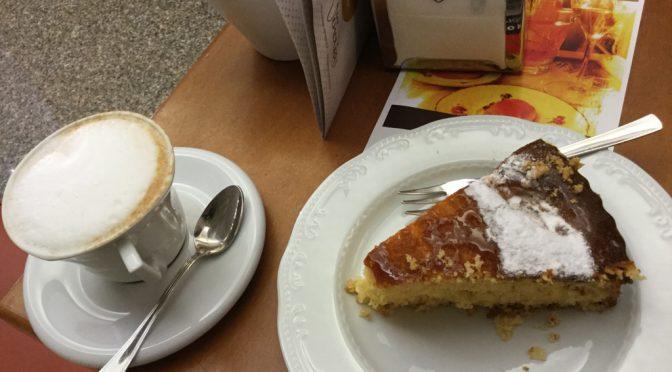ボローニャ、5日目、マントヴァ、カフェ、Bar Venezia