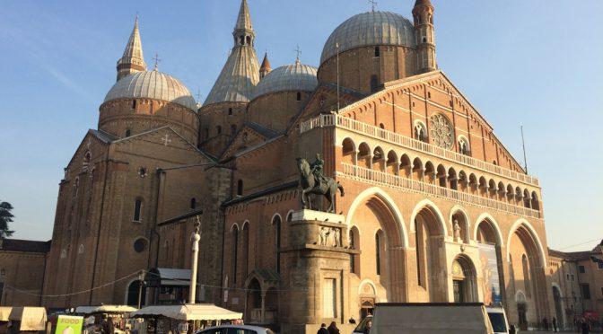 ボローニャ、7日目、パドヴァ、サンタントニオ聖堂