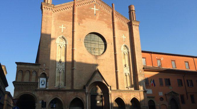 ボローニャ、8日目、サン・ジャコモ・マッジョーレ教会