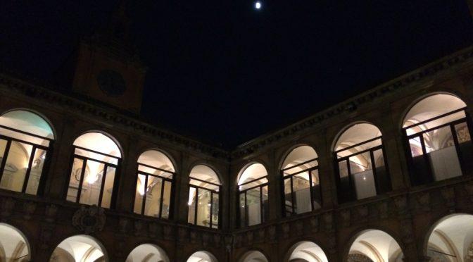 ボローニャ、8日目、アルキンジナージオ、月夜