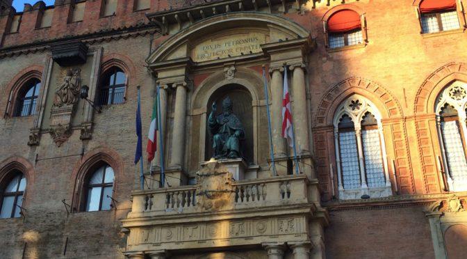 ボローニャ、9日目、市庁舎、グレゴリウス13世