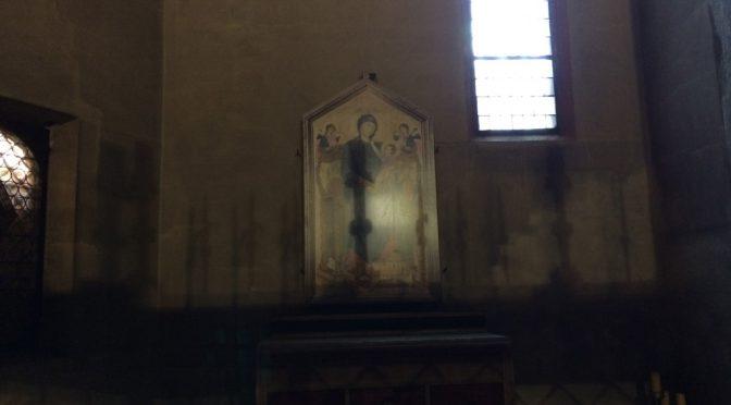 ボローニャ、8日目、サンタ・マリア・デイ・セルヴィ教会、チマブーエ、《マエスタ》