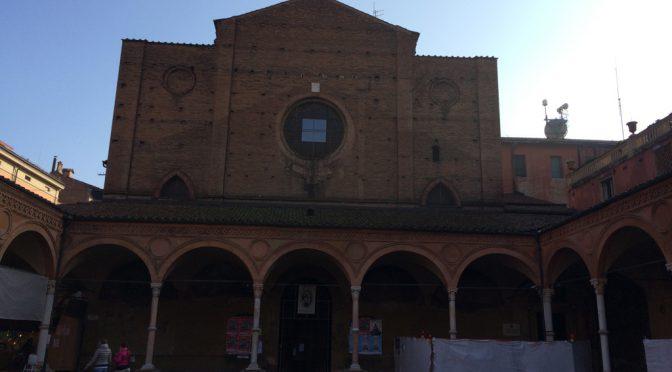 ボローニャ、8日目、サンタ・マリア・デイ・セルヴィ教会、ファサード