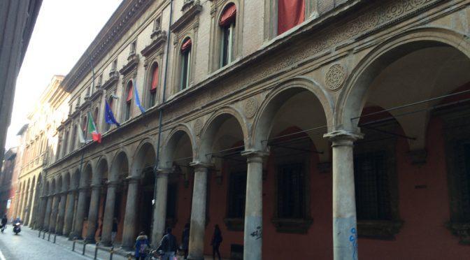 ボローニャ、8日目、街の中のアーケード