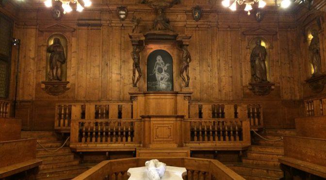 ボローニャ、8日目、アルキンジナージオ、解剖室