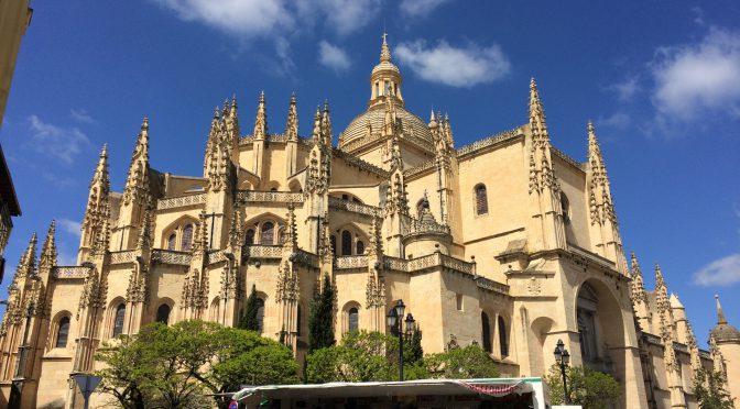 マドリード、4日目、セゴビア、セゴビア大聖堂、外観
