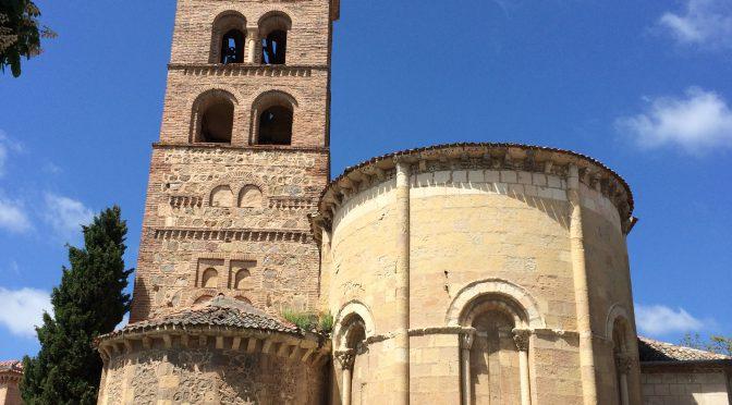 マドリード、4日目、セゴビア、サン・アンドレス教会