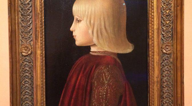 マドリード、4日目、ティッセン・ボルネミッサ美術館、ピエロ・デッラ・フランチェスカ、《子供の肖像》