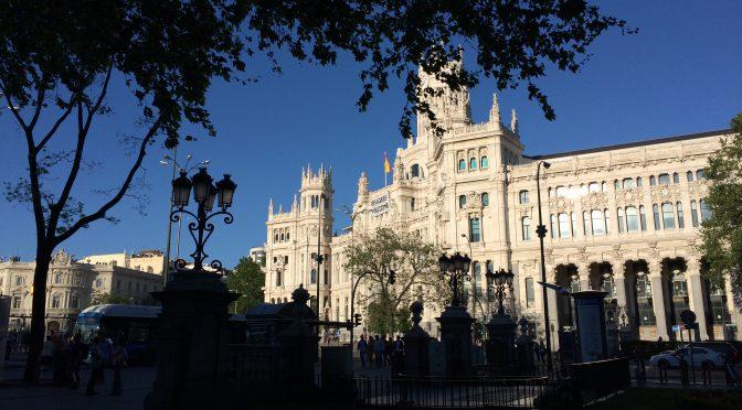 マドリード、4日目、シベレス宮殿