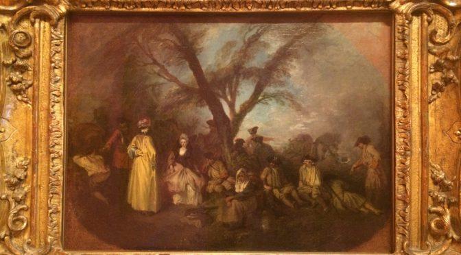 マドリード、4日目、ティッセン・ボルネミッサ美術館、「雅宴画(フェート・ギャラント)」の画家と言えば。。。