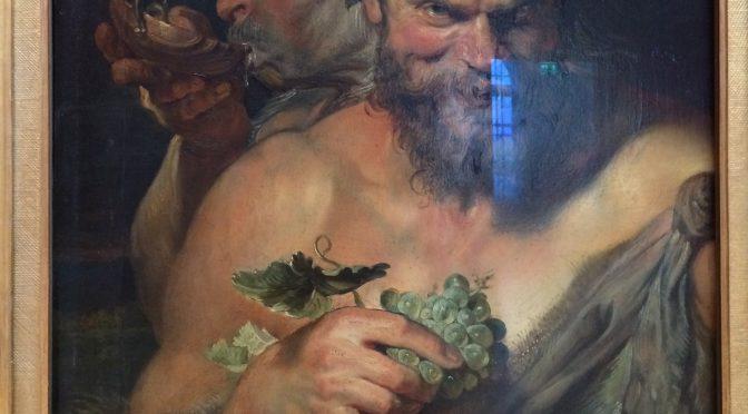 ルーベンス 《二人のサテュロス》 〜 アートの聖地巡礼(ドイツ)